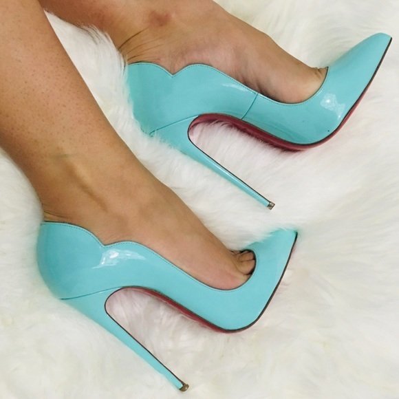 Authentic Christian Louboutin Hot Chick 130mm